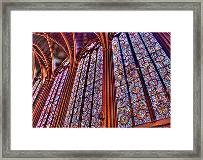 La Sainte-chapelle Framed Print