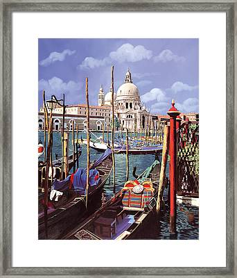 La Salute Framed Print by Guido Borelli