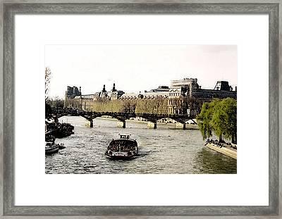 La Seine Framed Print by John Bradburn