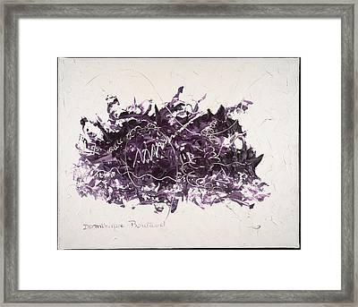 La Solitude Framed Print by Dominique Boutaud