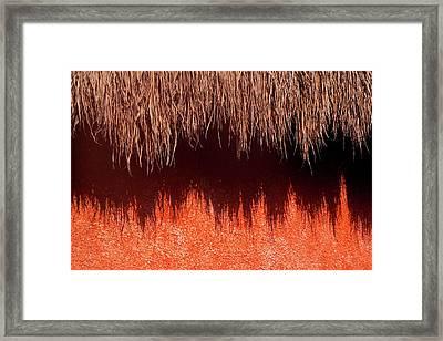 La Sombra Framed Print