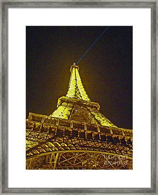 La Tour Eiffel II Framed Print