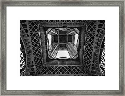 La Tour Eiffel Framed Print by Pablo Lopez