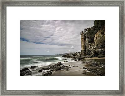 Framed Print featuring the photograph La Tour by Sean Foster