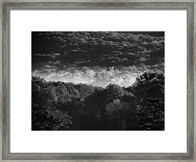 Framed Print featuring the photograph La Vallee Des Fees by Steven Huszar