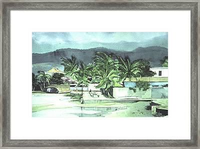 La Vela Framed Print