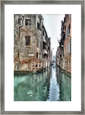 La Veste Venice Framed Print by Marion Galt