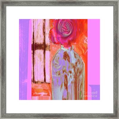 La Vie En Rose  1 Framed Print