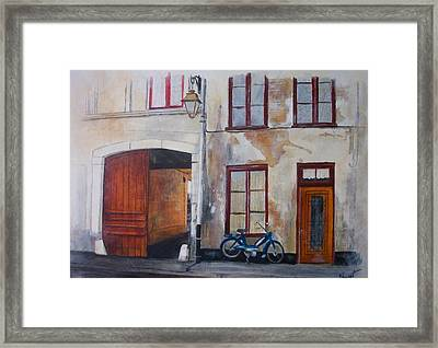 La Vieille Maison Framed Print by Victoria Heryet