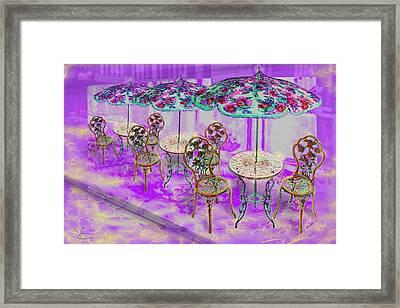 La Ville Lumiere Framed Print