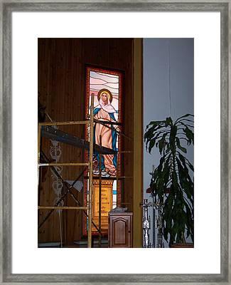 La Virgen Milagrosa Framed Print