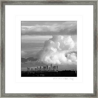 L.a. Wave Framed Print by Kevin Bergen