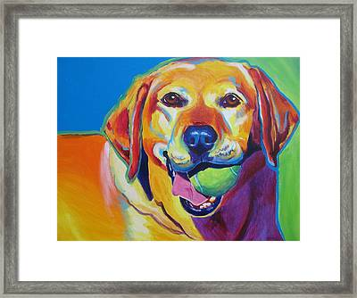 Lab - Bud Framed Print by Alicia VanNoy Call