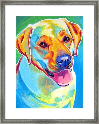 Lab - May Framed Print by Alicia VanNoy Call