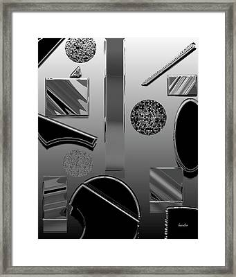 Lab Class Framed Print by Betsy Knapp