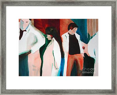 Lab Coats Framed Print