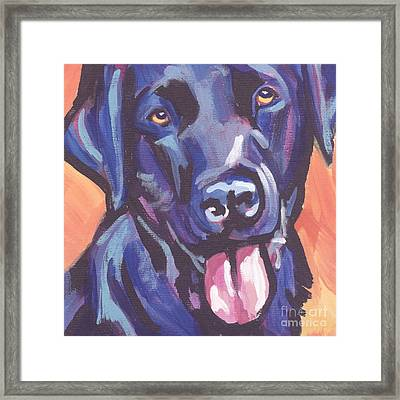 Lab Love Framed Print by Lea S