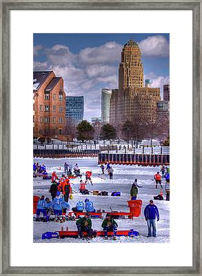 Labatt Pond Hockey 2011 Framed Print