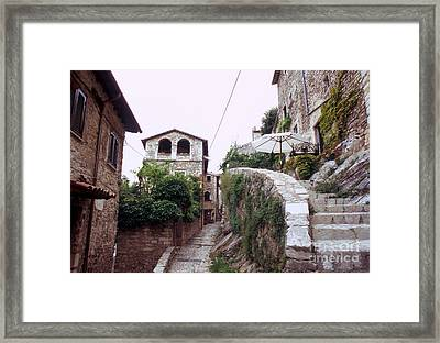 Labro Alleys I Framed Print by Fabrizio Ruggeri