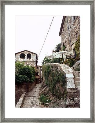 Labro Alleys II Framed Print by Fabrizio Ruggeri