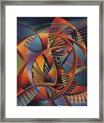 Labrynth No. IIi Framed Print by Ricardo Chavez-Mendez