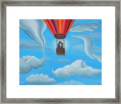 Labyrinth Liberation Framed Print