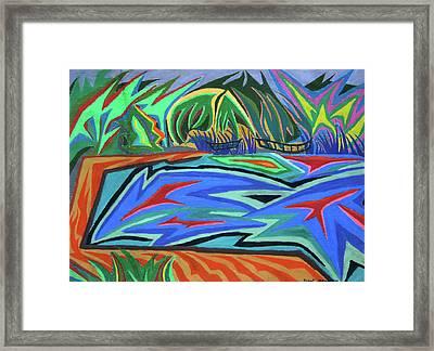 Lac Aura Framed Print by Robert SORENSEN