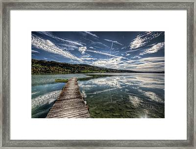 Lac Saint-point Framed Print by Philippe Saire - Photography
