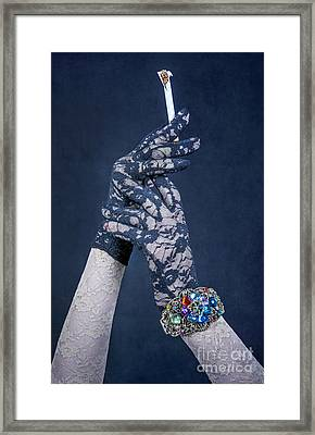 Lace Gloves Framed Print by Svetlana Sewell