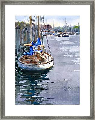 Lacerta Framed Print by Spencer Meagher
