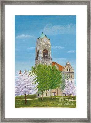 Lackawanna County Courthouse Framed Print