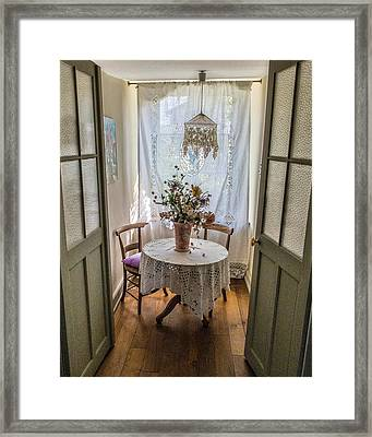Lacy Alcove Framed Print