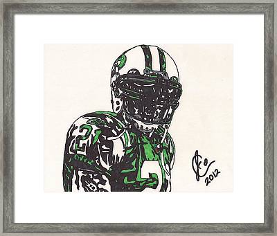 Ladainian Tomlinson 2 Framed Print by Jeremiah Colley