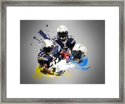 Ladainian Tomlinson Chargers Framed Print