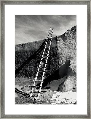 Ladder To The Sky Framed Print