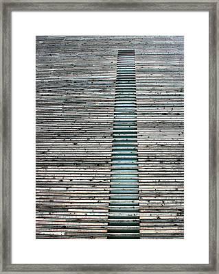 Framed Print featuring the photograph Ladder To Zen by David Dunham