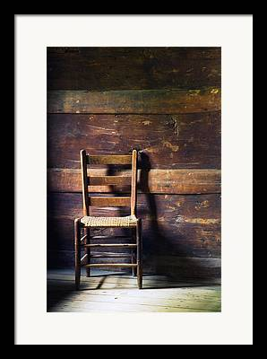 Ladderback Chair Framed Prints