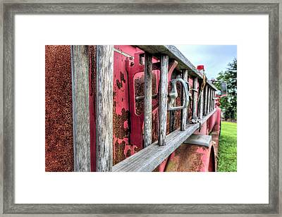 Ladders Framed Print by JC Findley