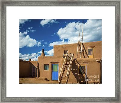 Ladders To Heaven Framed Print