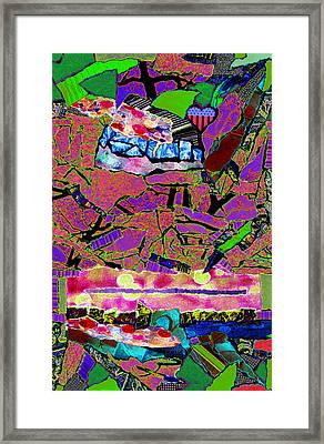 Ladies And Gentleman Framed Print by Kenneth James