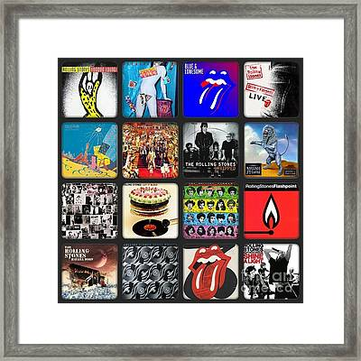Ladies And Gentlmen The Rolling Stones Framed Print