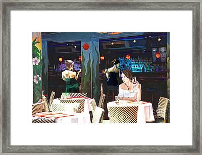 Ladies Night Framed Print