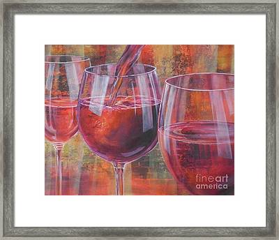 Ladies Night Out Framed Print by Carol McIntyre