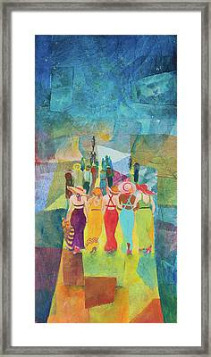 Ladie's Night Out Framed Print