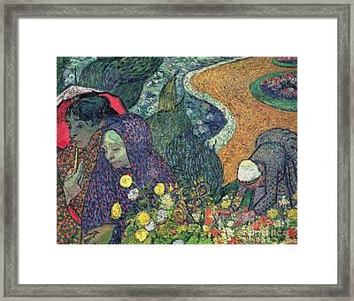 Ladies Of Arles Framed Print