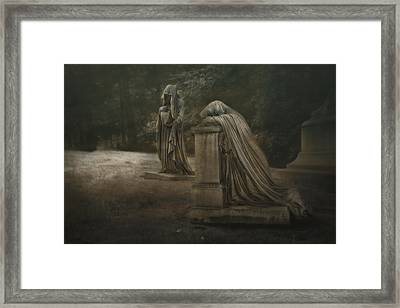 Ladies Of Eternal Sorrow Framed Print by Tom Mc Nemar
