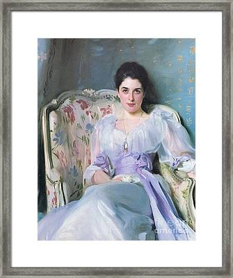 Lady Agnew Framed Print by MotionAge Designs