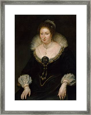 Lady Alethea Talbot, Countess Of Arundel Framed Print by Peter Paul Rubens