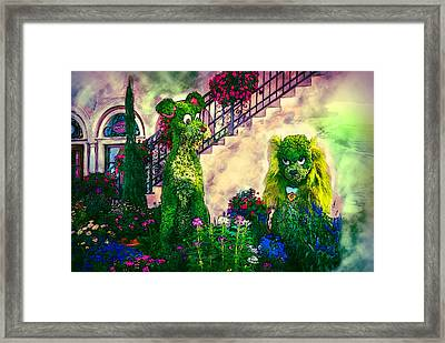Lady And The Tramp Framed Print