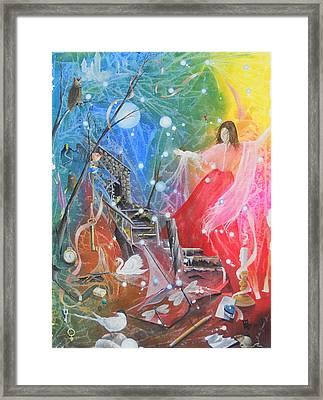 Lady Ardine - Finder Of Lost Treasures Framed Print